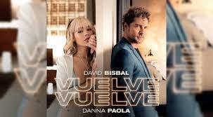 David Bisbal y Danna Paola estrenan 'Vuelve, vuelve' con un romántico videoclip | VIDEO