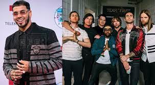 Anuel AA participará en el nuevo disco de Maroon 5   FOTO